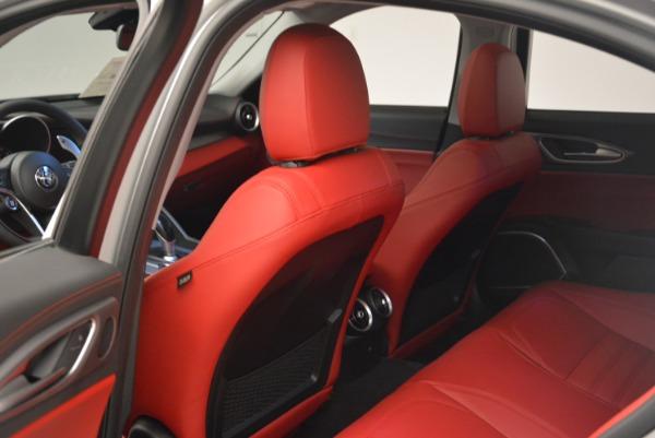 New 2018 Alfa Romeo Giulia Ti Sport Q4 for sale Sold at Bugatti of Greenwich in Greenwich CT 06830 19