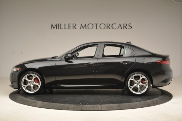 New 2018 Alfa Romeo Giulia Ti Sport Q4 for sale Sold at Bugatti of Greenwich in Greenwich CT 06830 3