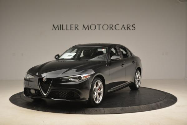 New 2018 Alfa Romeo Giulia Ti Sport Q4 for sale Sold at Bugatti of Greenwich in Greenwich CT 06830 1