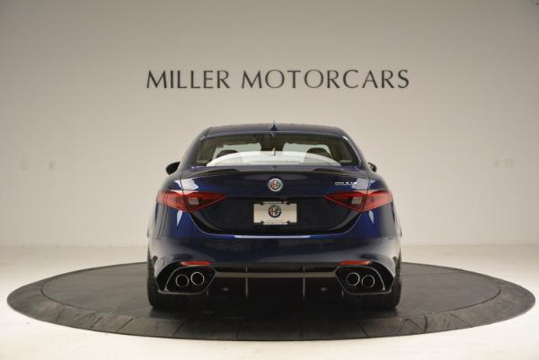 New 2018 Alfa Romeo Giulia Quadrifoglio for sale Sold at Bugatti of Greenwich in Greenwich CT 06830 6