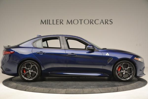 New 2018 Alfa Romeo Giulia Quadrifoglio for sale Sold at Bugatti of Greenwich in Greenwich CT 06830 9