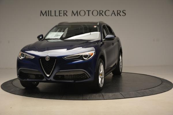 New 2018 Alfa Romeo Stelvio Ti Sport Q4 for sale Sold at Bugatti of Greenwich in Greenwich CT 06830 2