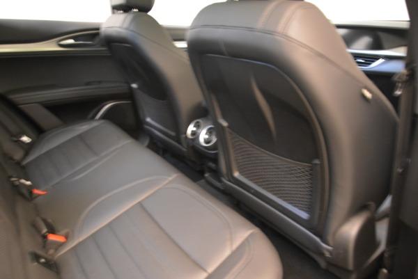 New 2018 Alfa Romeo Stelvio Ti Sport Q4 for sale Sold at Bugatti of Greenwich in Greenwich CT 06830 22