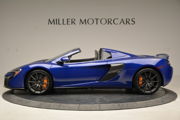 Used 2016 McLaren 650S Spider for sale Sold at Bugatti of Greenwich in Greenwich CT 06830 3