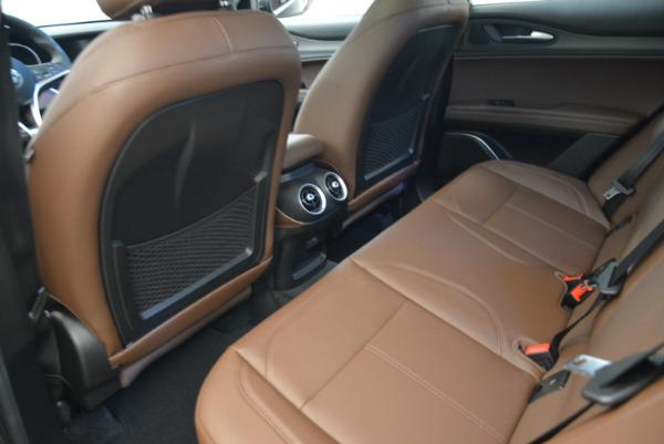 New 2018 Alfa Romeo Stelvio Ti Q4 for sale Sold at Bugatti of Greenwich in Greenwich CT 06830 16