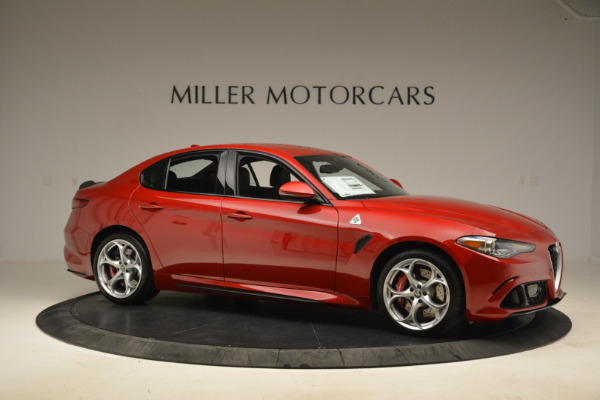 New 2018 Alfa Romeo Giulia Quadrifoglio for sale Sold at Bugatti of Greenwich in Greenwich CT 06830 10