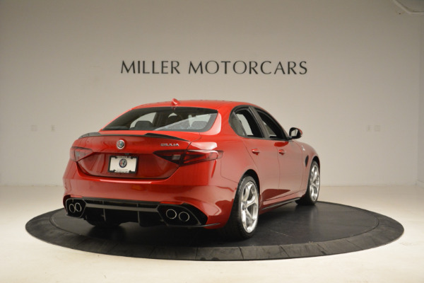 New 2018 Alfa Romeo Giulia Quadrifoglio for sale Sold at Bugatti of Greenwich in Greenwich CT 06830 7