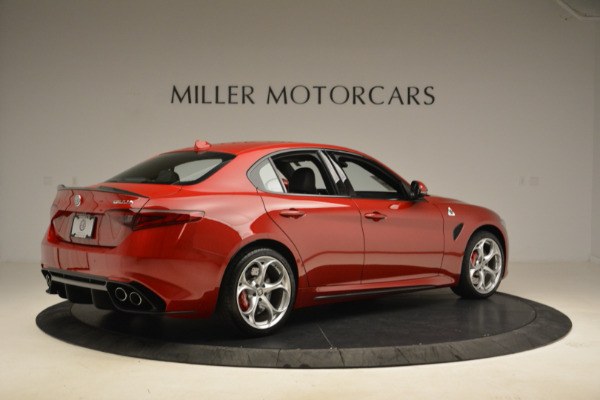 New 2018 Alfa Romeo Giulia Quadrifoglio for sale Sold at Bugatti of Greenwich in Greenwich CT 06830 8