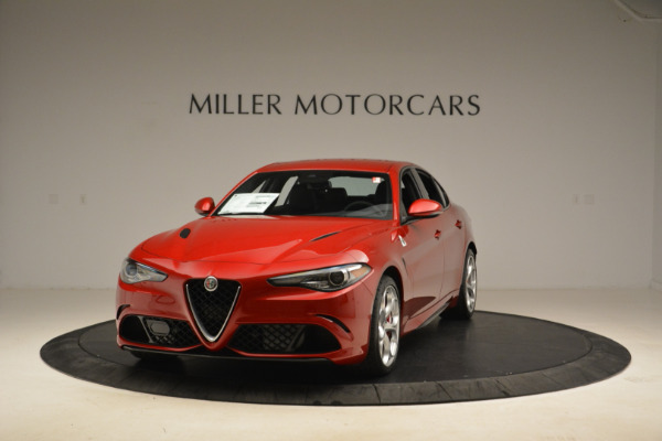 New 2018 Alfa Romeo Giulia Quadrifoglio for sale Sold at Bugatti of Greenwich in Greenwich CT 06830 1