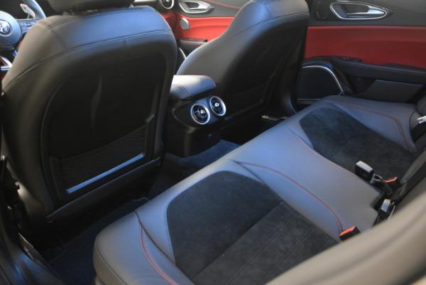 New 2018 Alfa Romeo Giulia Quadrifoglio for sale Sold at Bugatti of Greenwich in Greenwich CT 06830 18