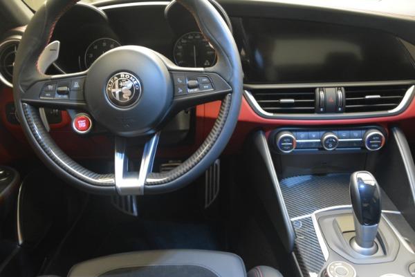 New 2018 Alfa Romeo Giulia Quadrifoglio for sale Sold at Bugatti of Greenwich in Greenwich CT 06830 20