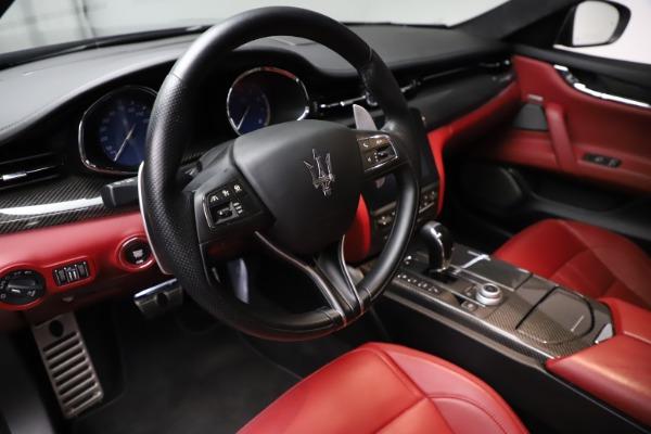 Used 2018 Maserati Quattroporte S Q4 GranSport for sale $67,900 at Bugatti of Greenwich in Greenwich CT 06830 13