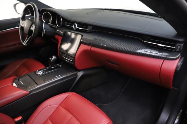 Used 2018 Maserati Quattroporte S Q4 GranSport for sale $67,900 at Bugatti of Greenwich in Greenwich CT 06830 22