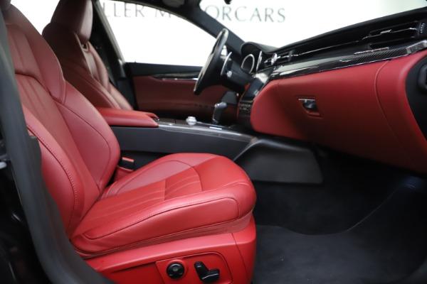 Used 2018 Maserati Quattroporte S Q4 GranSport for sale $67,900 at Bugatti of Greenwich in Greenwich CT 06830 23