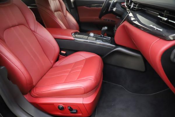 Used 2018 Maserati Quattroporte S Q4 GranSport for sale $67,900 at Bugatti of Greenwich in Greenwich CT 06830 24