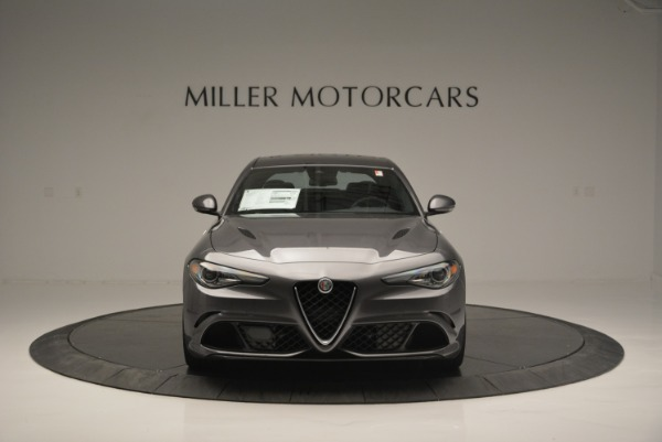 New 2018 Alfa Romeo Giulia Quadrifoglio for sale Sold at Bugatti of Greenwich in Greenwich CT 06830 12