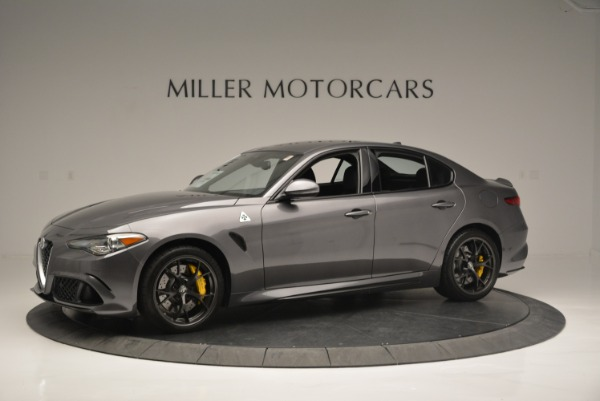 New 2018 Alfa Romeo Giulia Quadrifoglio for sale Sold at Bugatti of Greenwich in Greenwich CT 06830 2