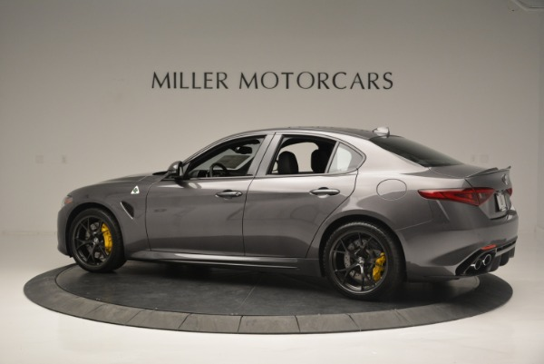 New 2018 Alfa Romeo Giulia Quadrifoglio for sale Sold at Bugatti of Greenwich in Greenwich CT 06830 4