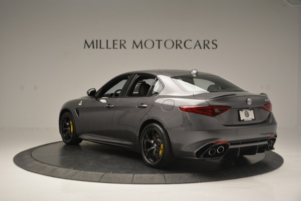 New 2018 Alfa Romeo Giulia Quadrifoglio for sale Sold at Bugatti of Greenwich in Greenwich CT 06830 5