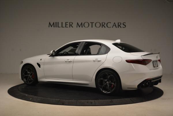New 2018 Alfa Romeo Giulia Quadrifoglio for sale Sold at Bugatti of Greenwich in Greenwich CT 06830 4
