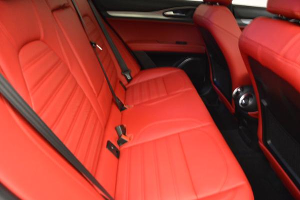 New 2018 Alfa Romeo Stelvio Ti Sport Q4 for sale Sold at Bugatti of Greenwich in Greenwich CT 06830 23