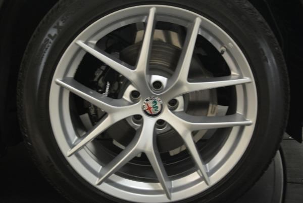 New 2018 Alfa Romeo Stelvio Ti Sport Q4 for sale Sold at Bugatti of Greenwich in Greenwich CT 06830 25