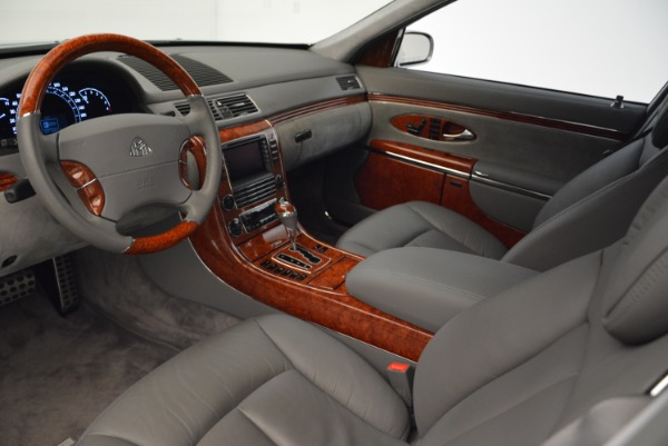 Used 2004 Maybach 57 for sale Sold at Bugatti of Greenwich in Greenwich CT 06830 14