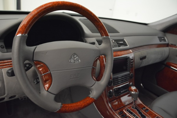 Used 2004 Maybach 57 for sale Sold at Bugatti of Greenwich in Greenwich CT 06830 15
