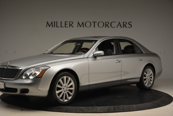 Used 2004 Maybach 57 for sale Sold at Bugatti of Greenwich in Greenwich CT 06830 2