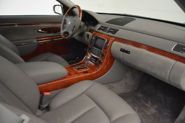 Used 2004 Maybach 57 for sale Sold at Bugatti of Greenwich in Greenwich CT 06830 26