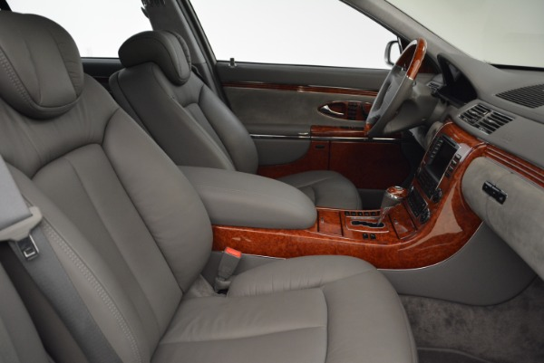 Used 2004 Maybach 57 for sale Sold at Bugatti of Greenwich in Greenwich CT 06830 27