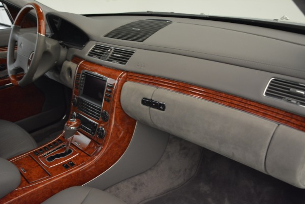Used 2004 Maybach 57 for sale Sold at Bugatti of Greenwich in Greenwich CT 06830 28