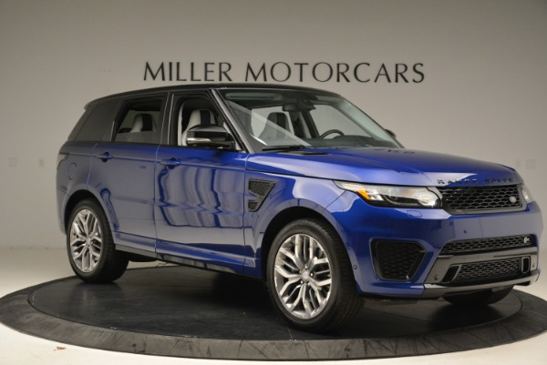 Used 2015 Land Rover Range Rover Sport SVR for sale Sold at Bugatti of Greenwich in Greenwich CT 06830 10