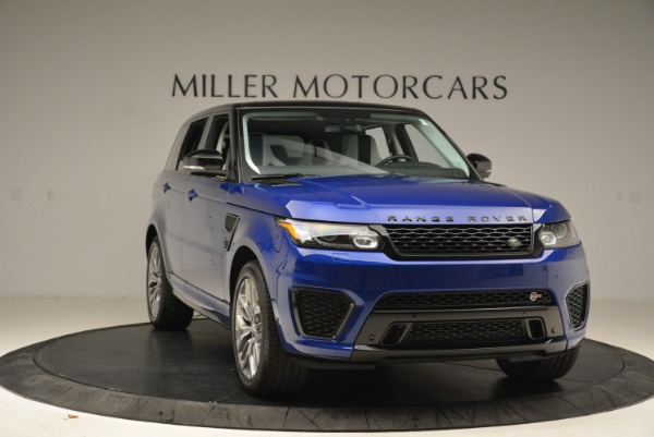 Used 2015 Land Rover Range Rover Sport SVR for sale Sold at Bugatti of Greenwich in Greenwich CT 06830 11
