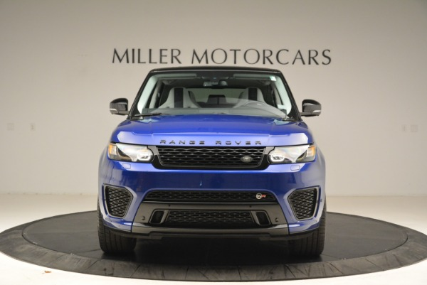 Used 2015 Land Rover Range Rover Sport SVR for sale Sold at Bugatti of Greenwich in Greenwich CT 06830 12