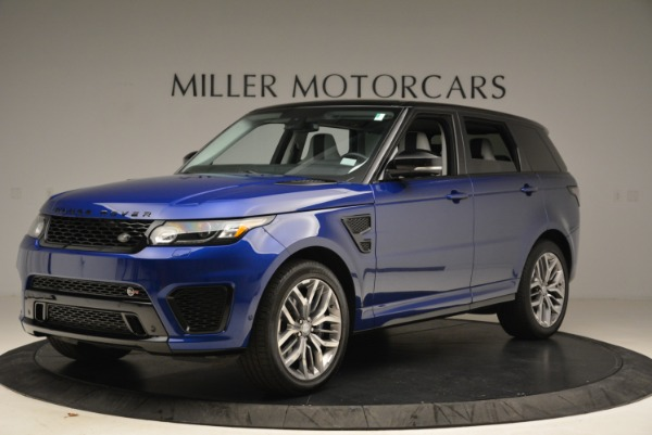 Used 2015 Land Rover Range Rover Sport SVR for sale Sold at Bugatti of Greenwich in Greenwich CT 06830 2