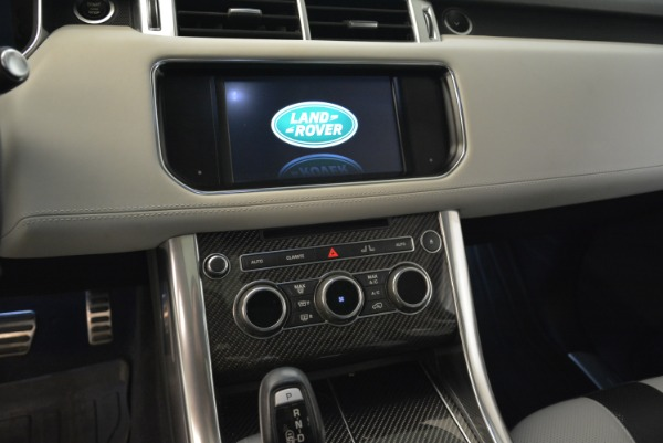 Used 2015 Land Rover Range Rover Sport SVR for sale Sold at Bugatti of Greenwich in Greenwich CT 06830 20