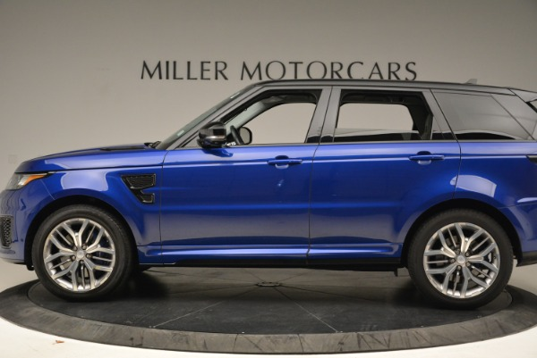 Used 2015 Land Rover Range Rover Sport SVR for sale Sold at Bugatti of Greenwich in Greenwich CT 06830 3