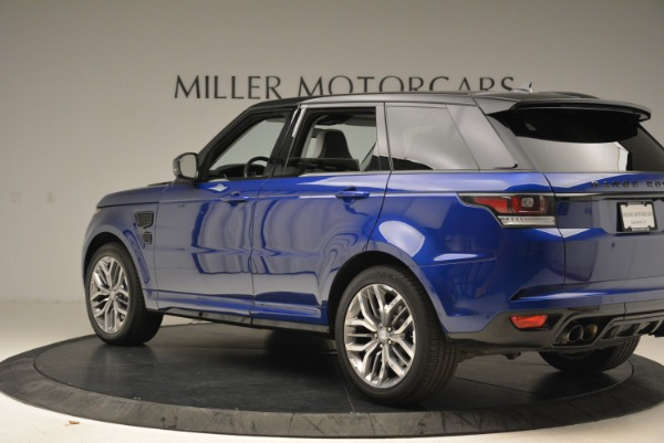 Used 2015 Land Rover Range Rover Sport SVR for sale Sold at Bugatti of Greenwich in Greenwich CT 06830 4