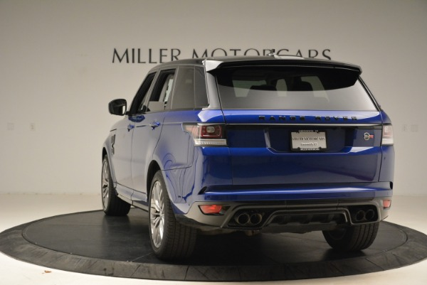 Used 2015 Land Rover Range Rover Sport SVR for sale Sold at Bugatti of Greenwich in Greenwich CT 06830 5