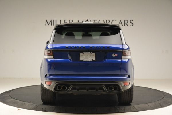 Used 2015 Land Rover Range Rover Sport SVR for sale Sold at Bugatti of Greenwich in Greenwich CT 06830 6