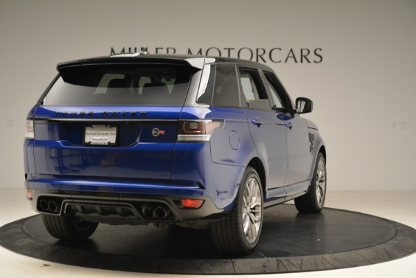 Used 2015 Land Rover Range Rover Sport SVR for sale Sold at Bugatti of Greenwich in Greenwich CT 06830 7