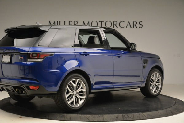 Used 2015 Land Rover Range Rover Sport SVR for sale Sold at Bugatti of Greenwich in Greenwich CT 06830 8