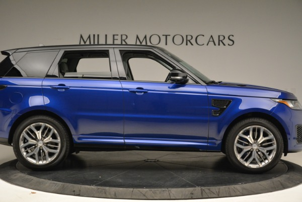Used 2015 Land Rover Range Rover Sport SVR for sale Sold at Bugatti of Greenwich in Greenwich CT 06830 9