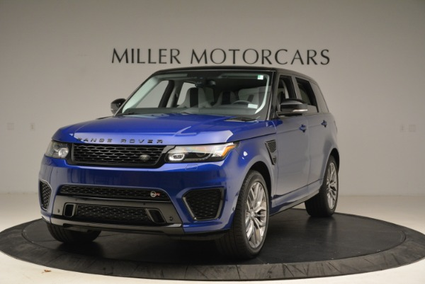 Used 2015 Land Rover Range Rover Sport SVR for sale Sold at Bugatti of Greenwich in Greenwich CT 06830 1