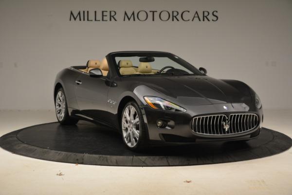 Used 2013 Maserati GranTurismo Convertible for sale Sold at Bugatti of Greenwich in Greenwich CT 06830 11