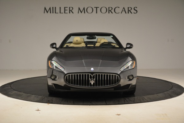 Used 2013 Maserati GranTurismo Convertible for sale Sold at Bugatti of Greenwich in Greenwich CT 06830 12