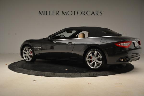 Used 2013 Maserati GranTurismo Convertible for sale Sold at Bugatti of Greenwich in Greenwich CT 06830 16