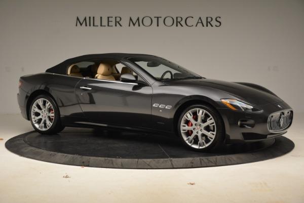 Used 2013 Maserati GranTurismo Convertible for sale Sold at Bugatti of Greenwich in Greenwich CT 06830 22