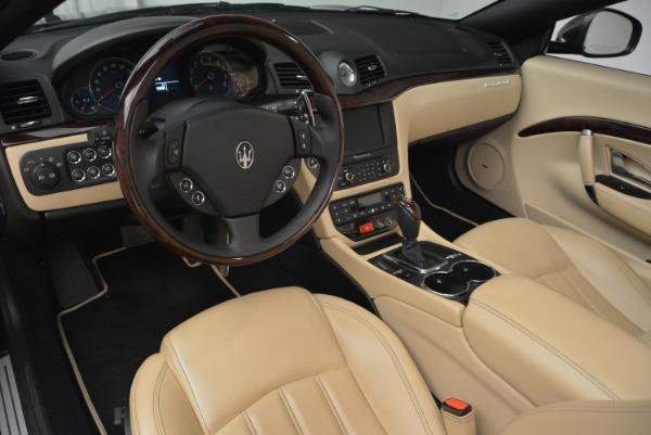 Used 2013 Maserati GranTurismo Convertible for sale Sold at Bugatti of Greenwich in Greenwich CT 06830 25